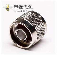 N型射频同轴连接器系列直式公头公针焊接式接线
