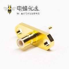 smb型接头母头直式180度2孔法兰焊接接线