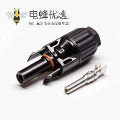 MC4连接器接线面板安装一公一母一套防水