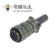 伺服电机军规航空插头插座 MS3106A20-18S直头