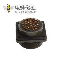 伺服连接器MS3102A28-12P 通讯插座防水航空插座