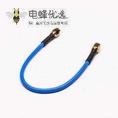 SMA公转SMA公直式180度RF同轴线缆