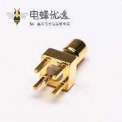 SSMB直式连接器PCB电路板直插镀金母头