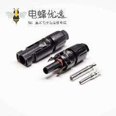 MC4线缆连接器防水面板安装接线一套