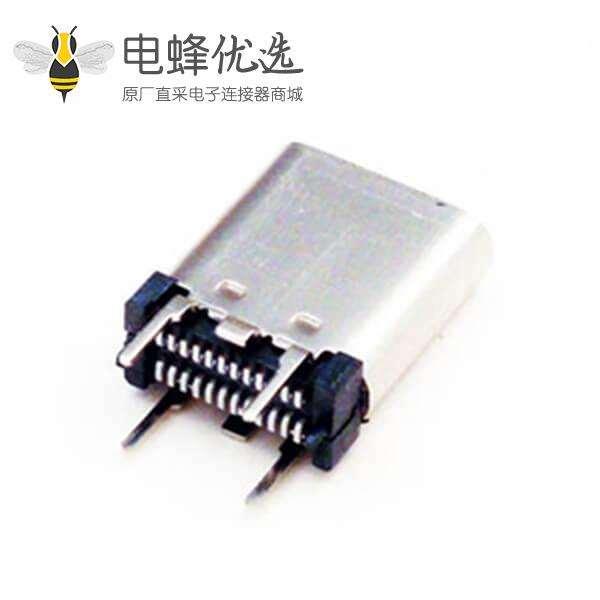 短体夹板式 type c系列USB type c连接器优质厂家