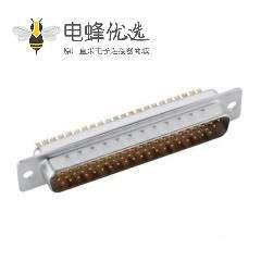 78针D Sub高密度公头车针连接器焊接型