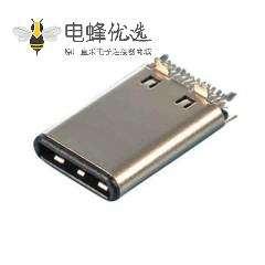 立式公座夹板USB type c连接器