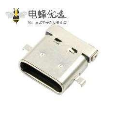 USB type c 3.1连接器24pin母座连接器