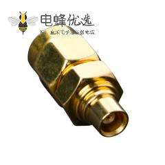 SMA转MCX母头直式连接器