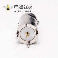bnc直插接口母头接PCB板式射频同轴连接器