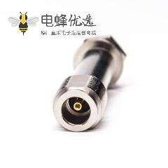 n型母头连接器直式加长型焊接式接线带防水圈