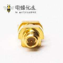 mmcx公头直式连接器贴板式接PCB板镀金