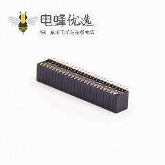 贴板式排母连接器直式180度双排50孔