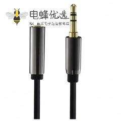 3.5mm线材aux公对母耳机延长音频线50CM