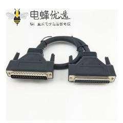 高端品质全铜DB25公转母串口线,信号连接线,并口打印机连接线