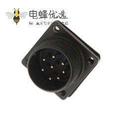MS3102A22-23P 8P防水连接器铝合金航空插座