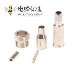 FME压接直式电缆安装连接器2GHz插座终端50Ω