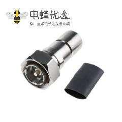7/16连接器插头50Ω电缆安装锁接端子