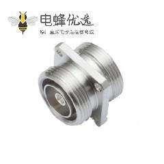 7/16连接器法兰安装50Ω插头焊接端子