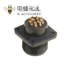 伺服连接器 MS3102A18-19P通讯插座 防水航空插座
