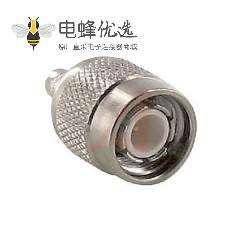 TNC连接器直式公50Ω电缆安装压接端子RG58