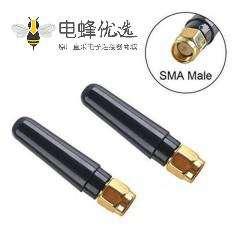 2.4G /5.8G胶棒天线接SMA公头天线
