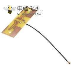 全向PCB内置WiFi接IPEX线材天线2.4G 3dBi