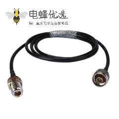 RF同轴电缆线接N公头转N母头RG58组装式线束