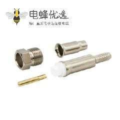 FME连接器插孔50Ω2GHz直式电缆安装压接端子