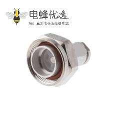 7/16连接器插头焊接50Ω 端子用于RG213 / U