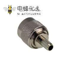 TNC 50欧姆RF同轴公压接插头连接器