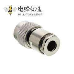 TNC公头50欧姆射频同轴直插式插头端子用于电缆
