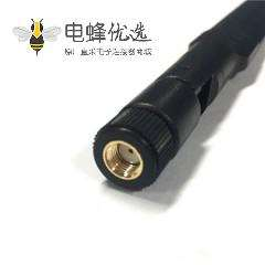 2.4G/5.8G双频全向高增益WiFi天线接反极SMA公头