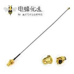 反极SMA天线2.4GHz 5.8GHz 3dBi接IPEX U.FL to RP-SMA线材