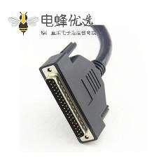 DB25公转母信号串口线 DB25P延长线转接线 并口打印机串口线