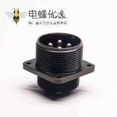 高品质耐用防水航空插头MS3102A22-22P方盘插座接插件-兼容DDK