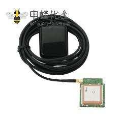 GPS瓷块天线带SMA公头接RG174 1.13线材