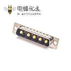 D-sub 5W5 20A公头焊线