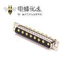 D-sub 8W8公头焊线直式车针型