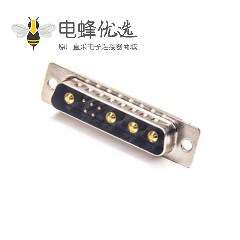 D-sub 9W4公头焊线