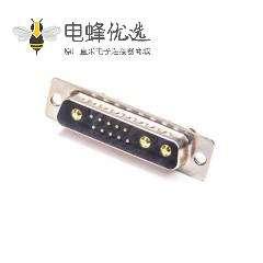 D-sub 13W3公头焊线