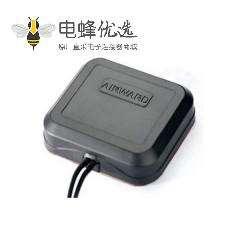 GPS +GSM/3G/4G组合天线面板形状粘贴式接SMA公头