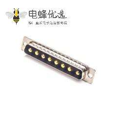 D-sub 8W8公头焊线