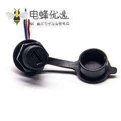 防水MINI HDMI插头 AF防水等级IP67接线