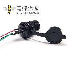 防水USB AF接头带线防水Micro USB接线芯5p