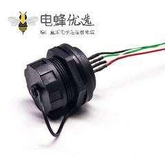 防水USB AF接头母座面板式
