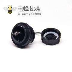 防水AF USB接头USB2.0防水插座连接线