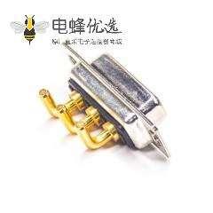 D-sub3W3 20A母头焊板90度弯插板
