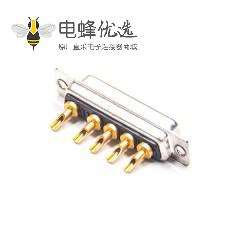 D-sub 5W5 10A母头焊线