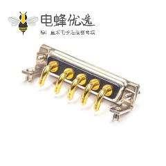 D-sub 5W5公头叉脚90度焊板